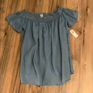 NWT - Old Navy Off the Shoulder Blouse